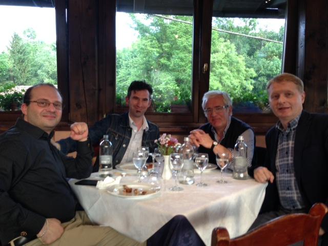 con Mauro Beltramo, il Senatore Lucio Malan